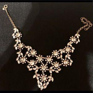 J crew jewel statement necklace